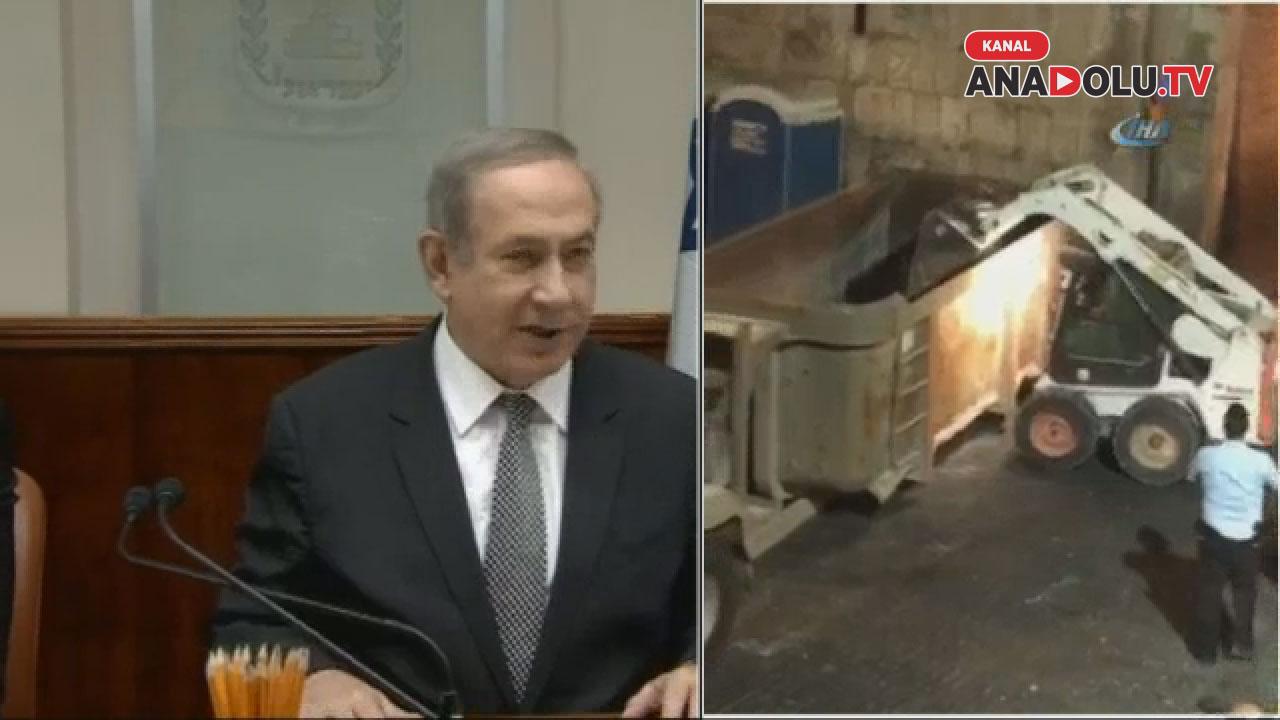 İsrail geri adım attı: Dedektörleri kaldırdı