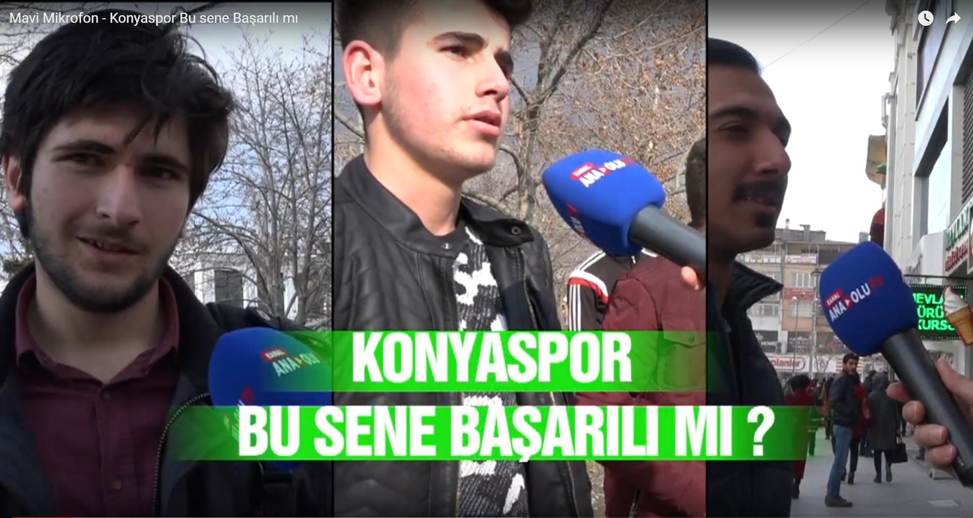 Mavi Mikrofon - Konyaspor Bu sene Başarılı mı  ?