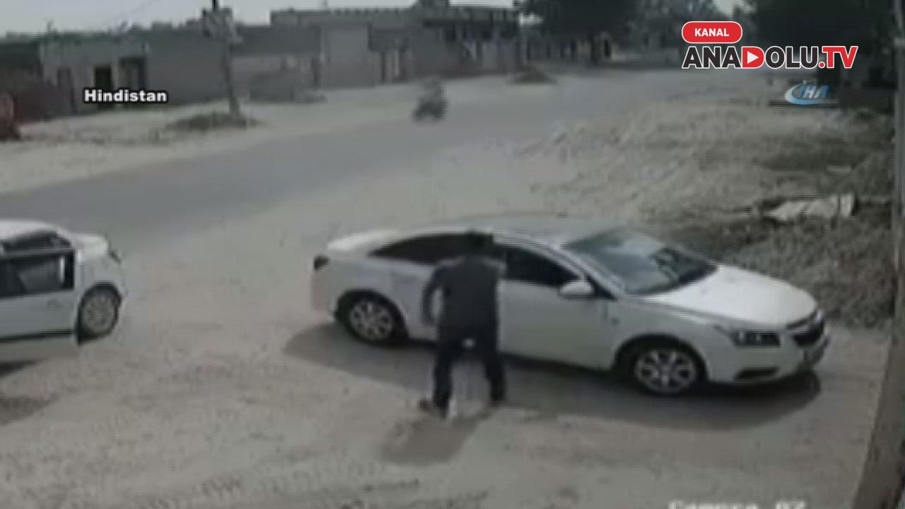 İş adamı aracında infaz edildi