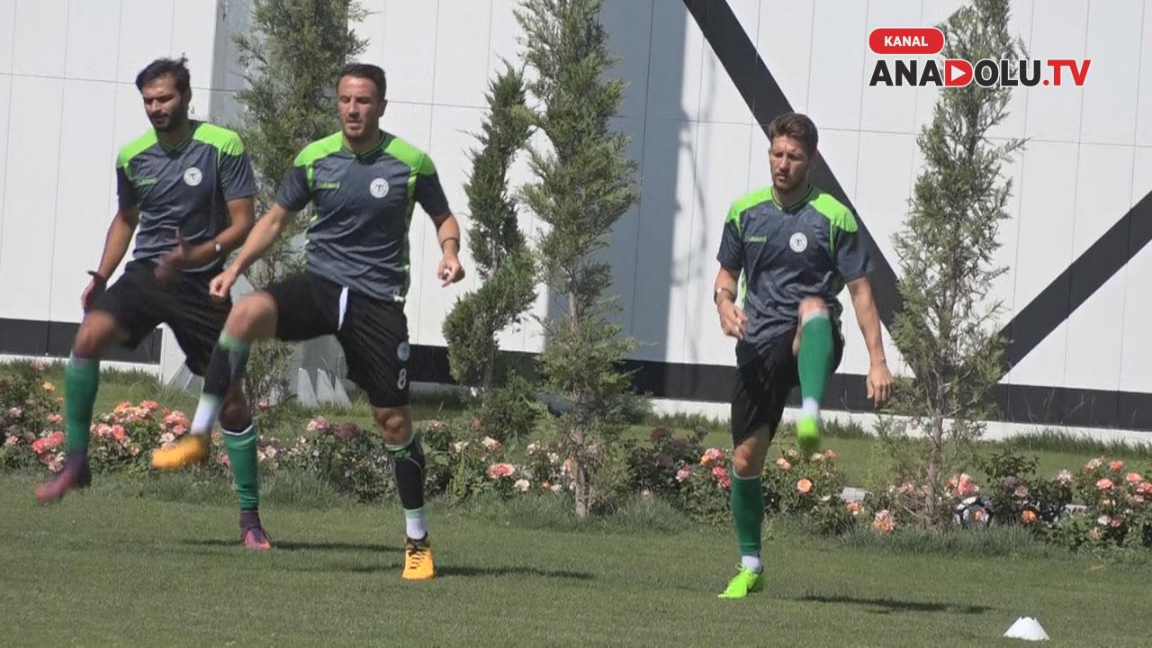 Konyaspor'da Süper  Kupa maçı mesaisi