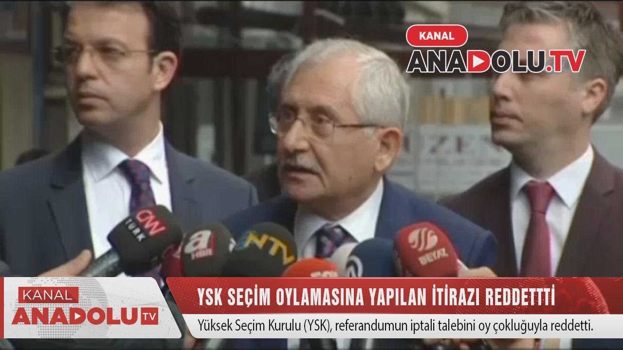 YSK referandum iptalini reddetti