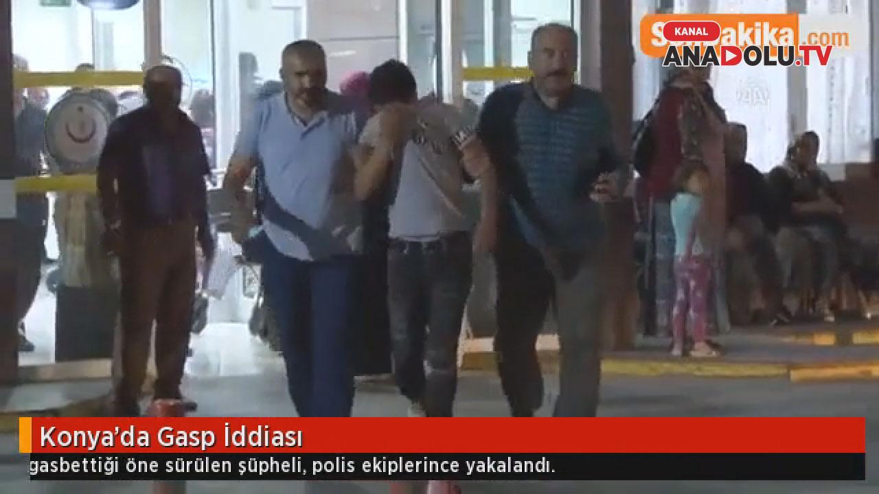 Konya'da iki çocuğa gasp iddiası
