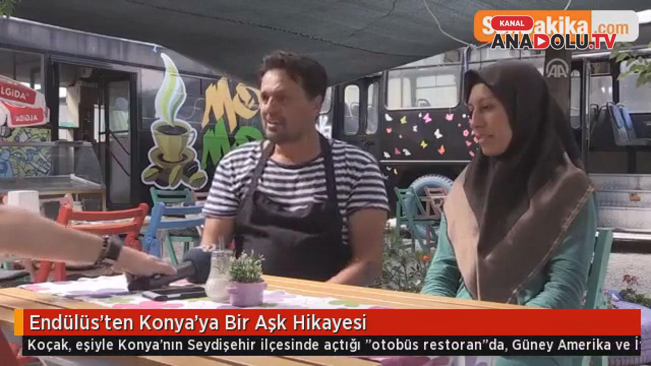 Endülüs'ten Konya'ya bir aşk hikayesi #konyahaber