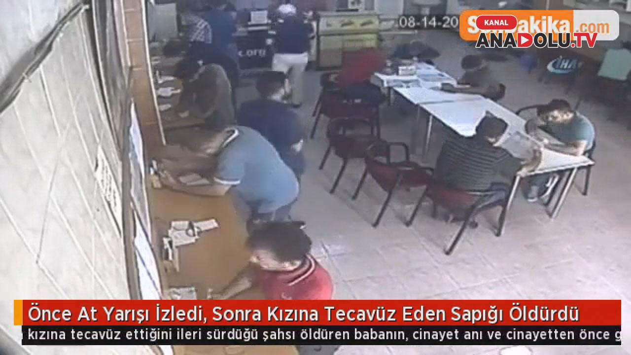 Kızına taciz eden sapığı böyle öldürdü #konyahaber