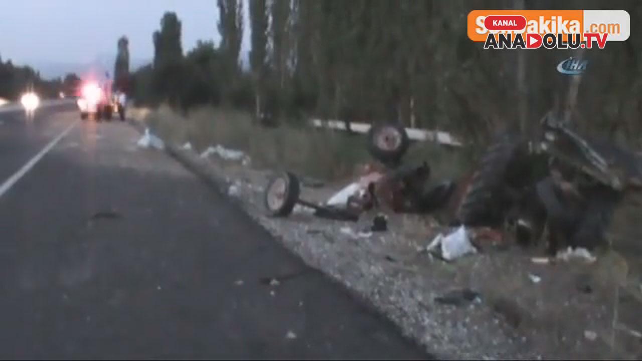 Konya'da feci kaza #konyahaber