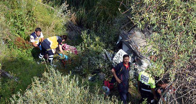 Konya'da kaza yapan sürücü son anda kurtuldu@konyahaber
