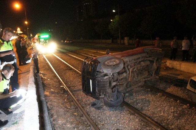 Konya'da tramvay kazası #konyahaber