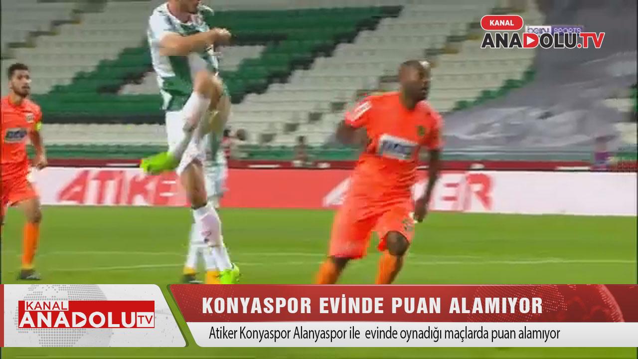 Konyaspor Alanya'ya karşı evinde kayıp  #konyaspor