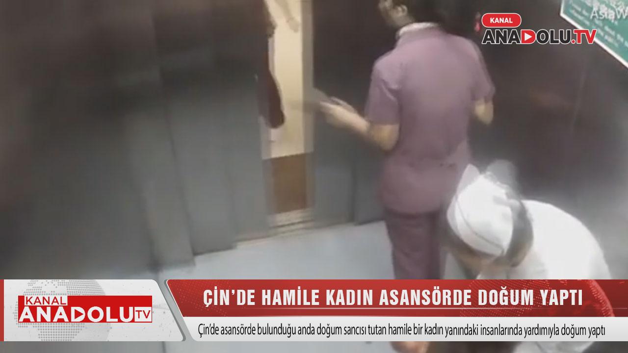 Hamile Kadın Asansörde Doğum Yaptı