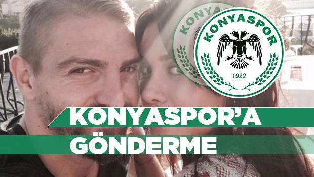 Şükran Ovalı'dan Konyaspora gönderme #konyahaber