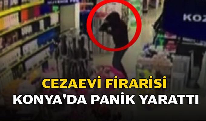 Cezaevi Firarisi Konya'da panik yarattı