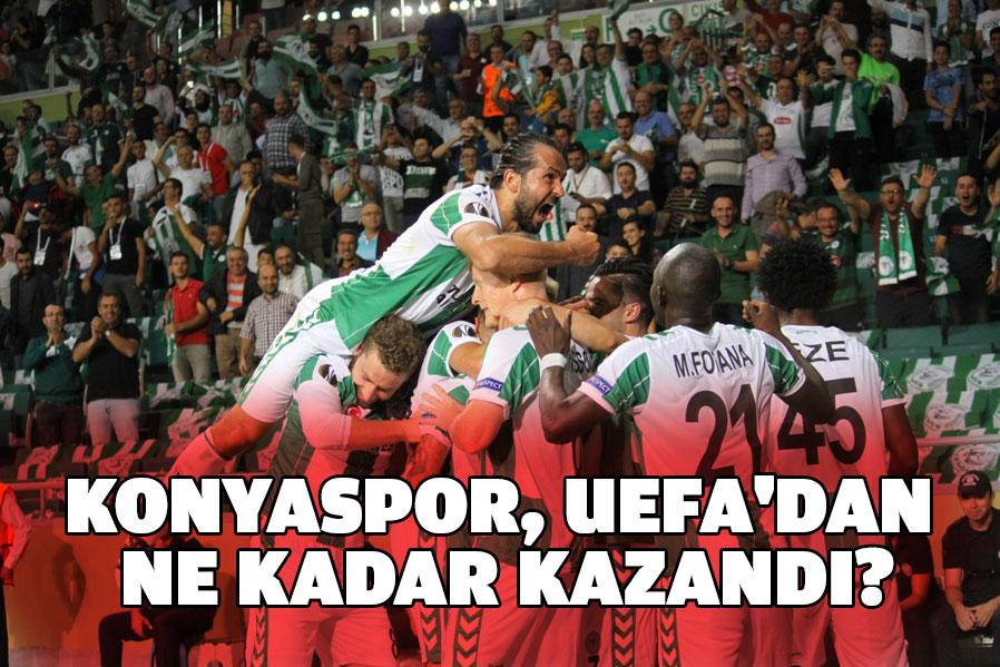 Konyaspor, UEFA'dan ne kadar kazandı?