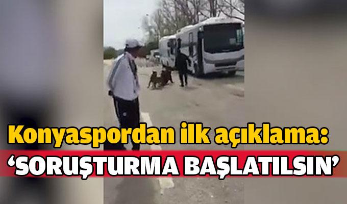 Konyaspor olaylı maçla ilgili soruşturma talep etti