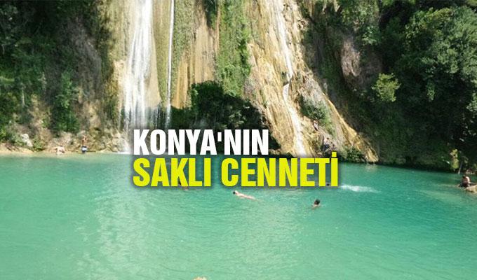 Konya'nın saklı cenneti: Uçansu Şelalesi