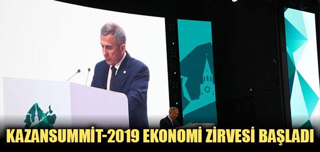 Rusya-İslam Dünyası: KazanSummit-2019 Ekonomi Zirvesi başladı