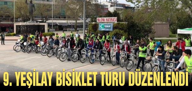 9. Yeşilay Bisiklet Turu düzenlendi