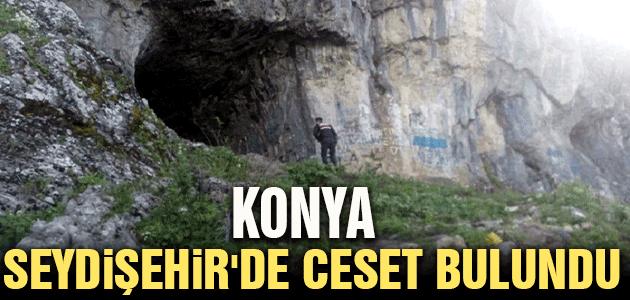 Konya Seydişehir'de ceset bulundu