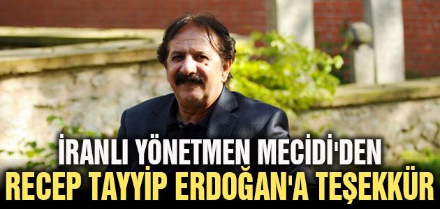 İranlı yönetmen Mecidi'den Erdoğan'a teşekkür