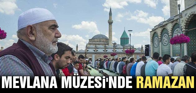 Mevlana Müzesi'nde ramazan