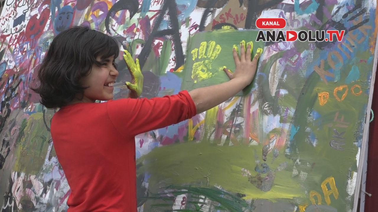 Konya'da sanat sokağa taştı