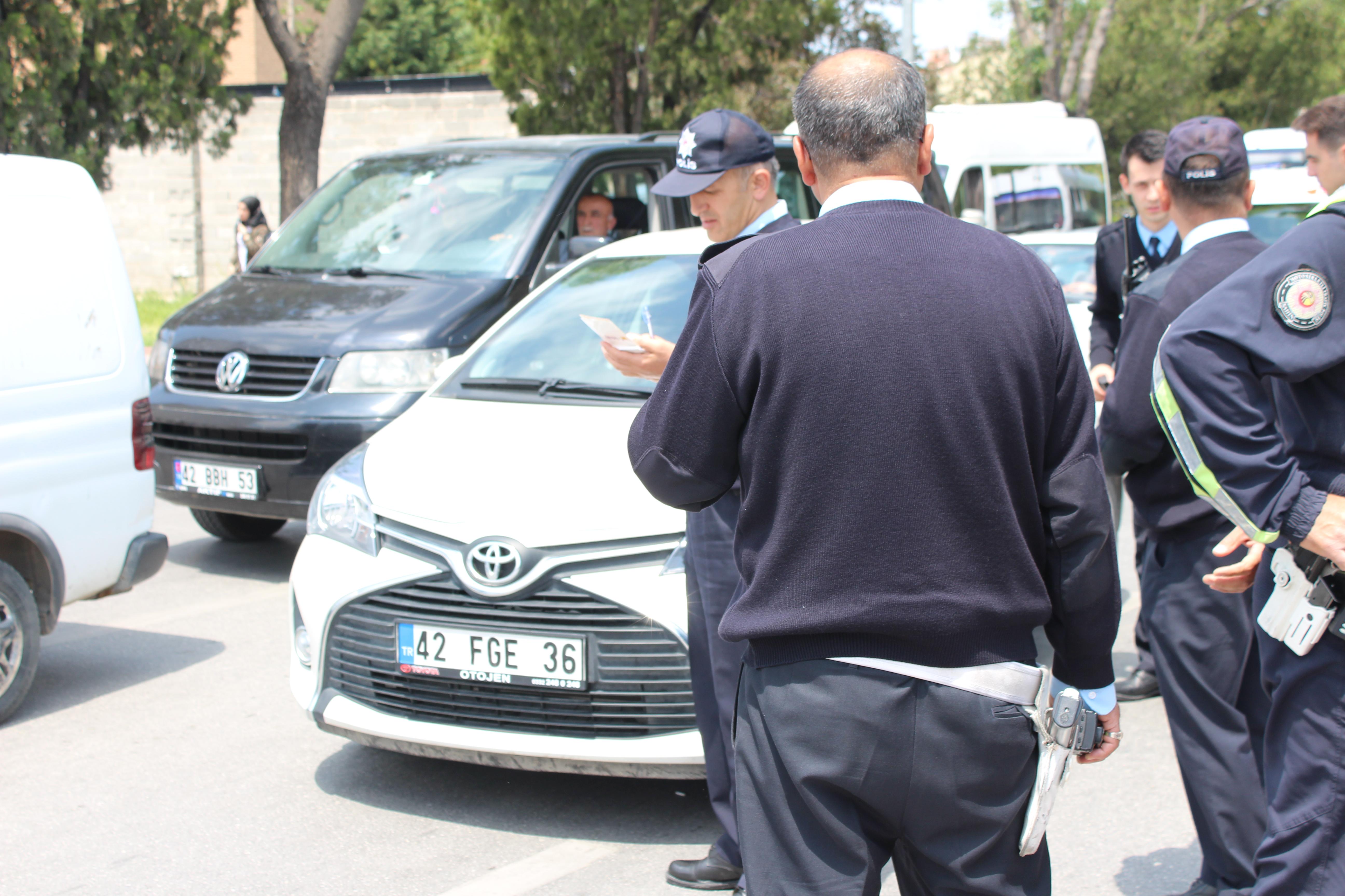 Konya'da silahlı yaralama
