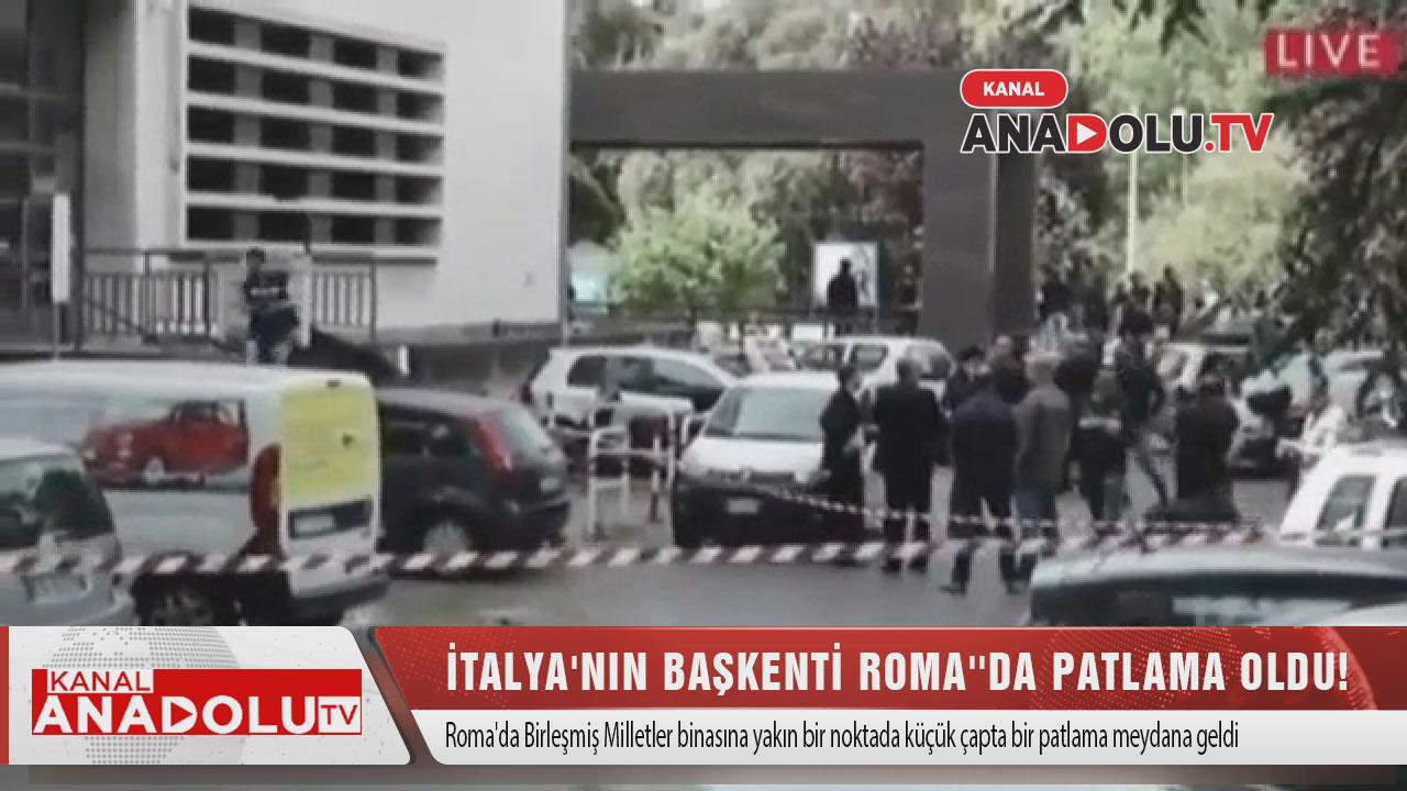 İtalya'nın Başkenti Roma''da Patlama Oldu!