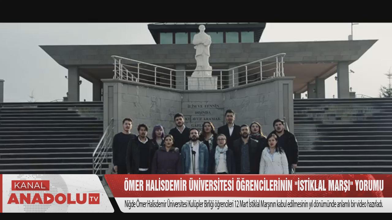 Ömer Halisdemir Üniversitesi Öğrencilerinin