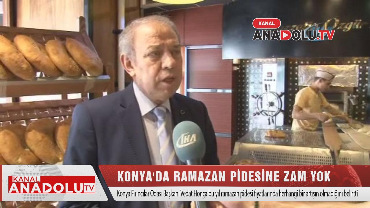 Konya'da Ramazan Pidesine Zam Yok